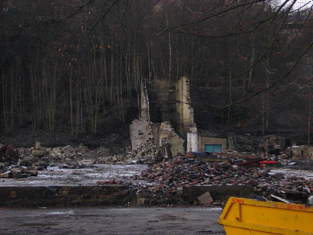 Remains of Mytholm Mill