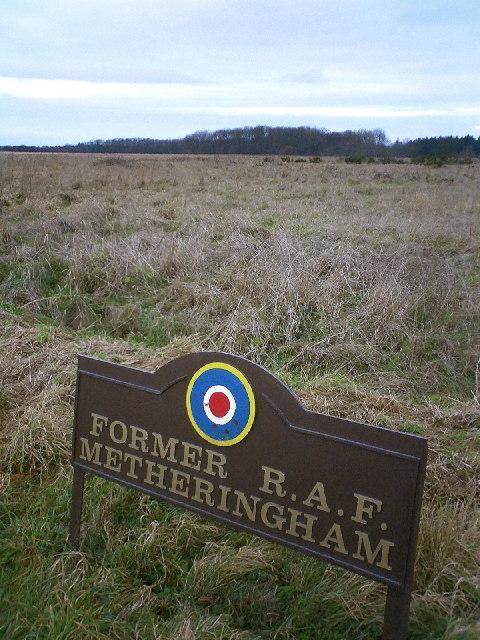 Former RAF Metheringham WWII Airfield