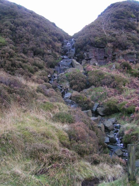 Waterfall, Goyt's Clough