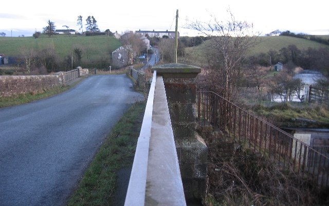 Bullgill from the railway bridge.