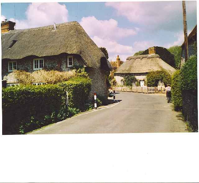 Singleton, thatched cottages