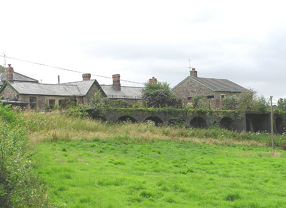 The old station, Bishops Nympton and Molland