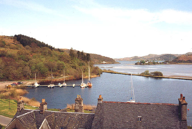 Crinan Canal and Bellanoch basin