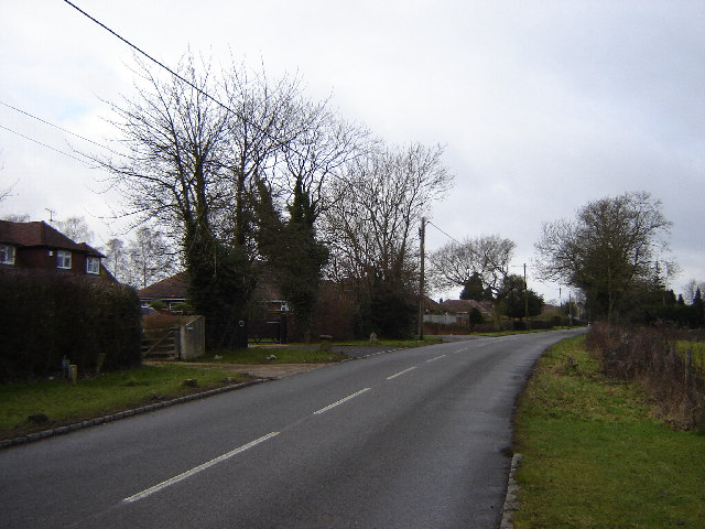 Houses on Chinnor Road, Bledlow Ridge