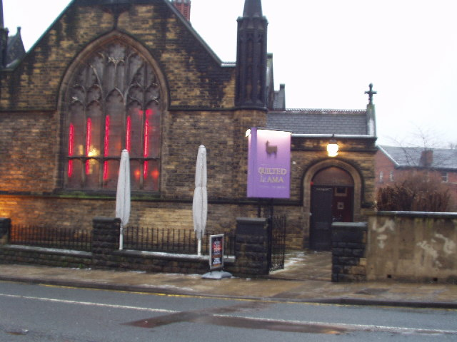 Quilted Llama, Former Church, Woodhouse Lane, Leeds