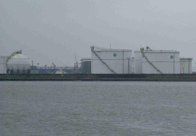 Coryton Oil and Gas Tanks