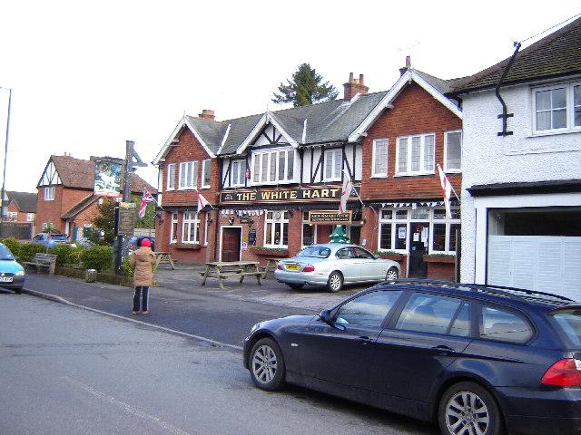 The White Hart, Holybourne