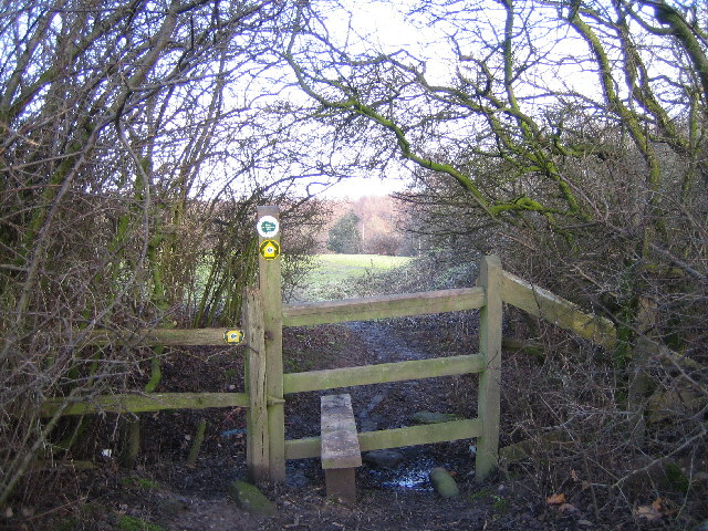 Stile on the Heart of England Way