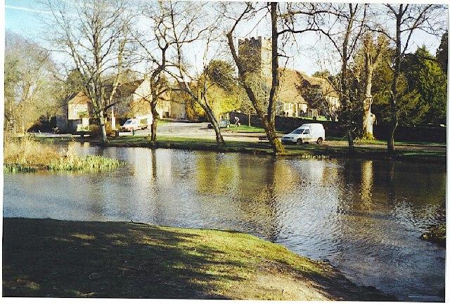 Buriton village pond