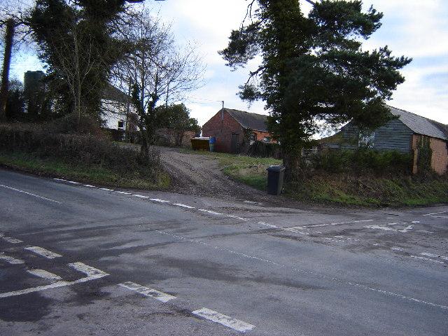 Malms Farm near Holybourne