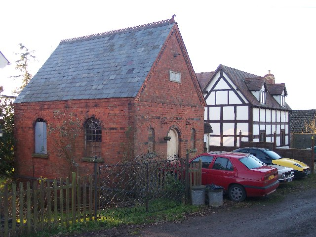 Old Chapel at Hope's Rough