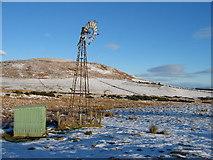 NN9933 : Wind turbine near Little Glenshee by Jackie Proven