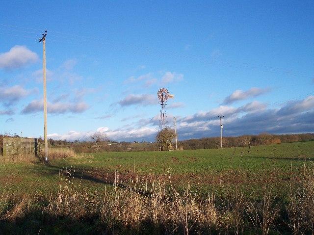 Wind Pump near Hope's Rough