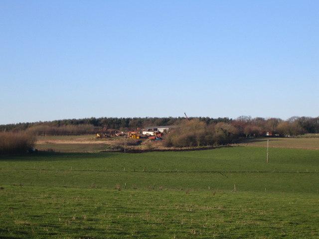 Birchley  Hall Farm and Birchley Hays Wood