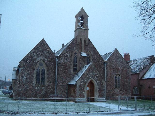 Triple-gabled church, Williton