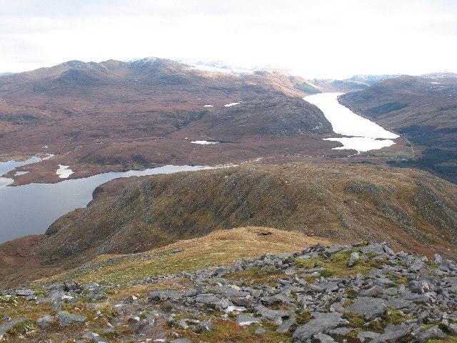 SE ridge of Ben Stack