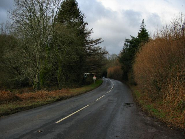 The A382 near East Wray - Devon
