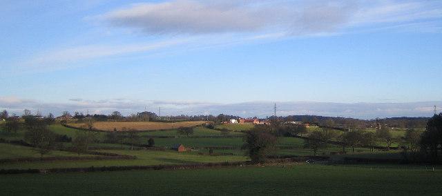 Farmland South of Corley Moor