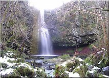NS5078 : Auchineden Spout, Greenan Glen by Chris Upson