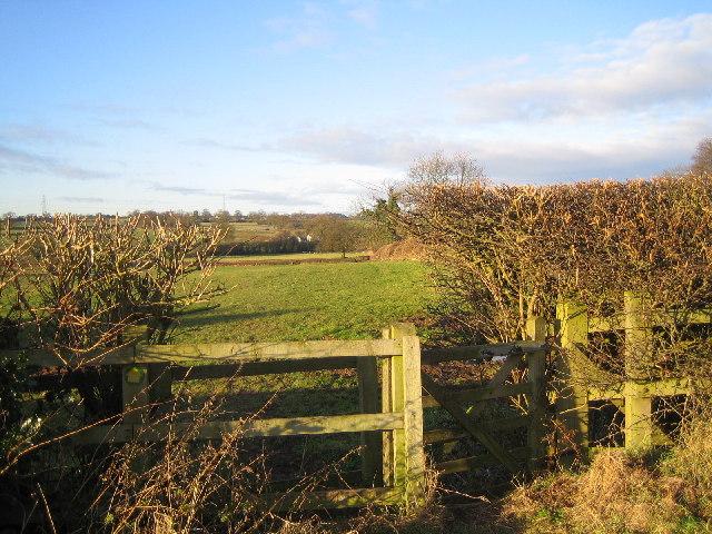 Footpath Near Pikers Lane