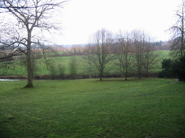 Rousham Park views