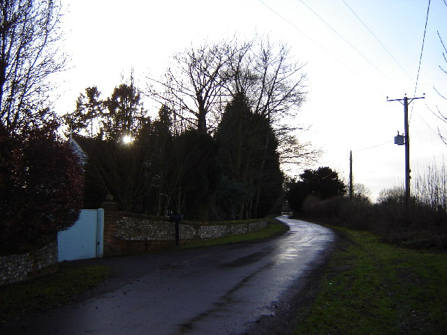 A lane at Wivelrod