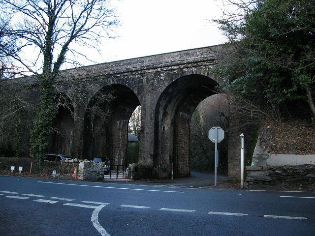 Viaduct beside the A385 - Devon