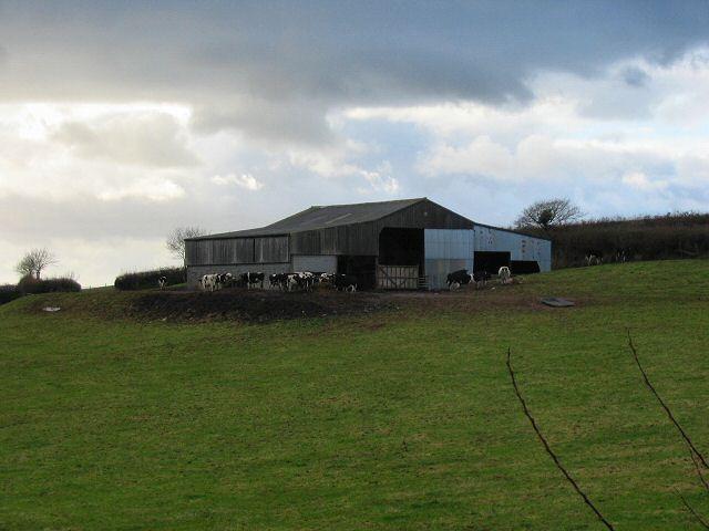 Crabadon cowshed - South Devon