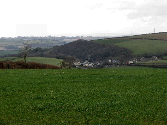 Halwell from near Moreleigh, South Devon