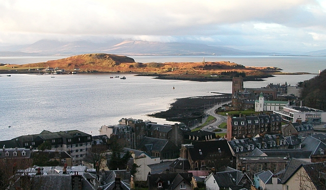 Oban Bay, New Year's Day 2006