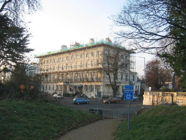 Repairs on Newbold Terrace