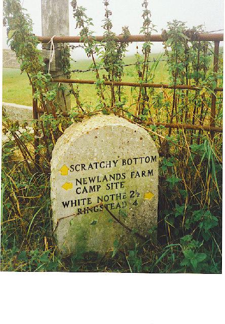 Scratchy Bottom Marker Stone