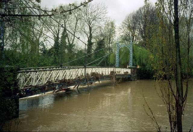 Floods at the Mill Bridge