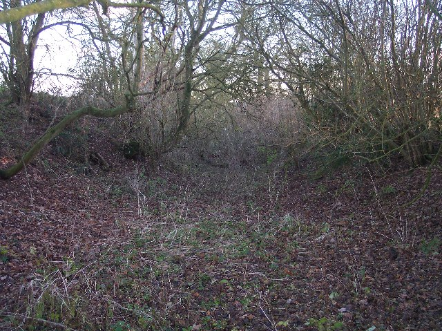 Holloway, Old Road from Hope's Rough to Five Bridges