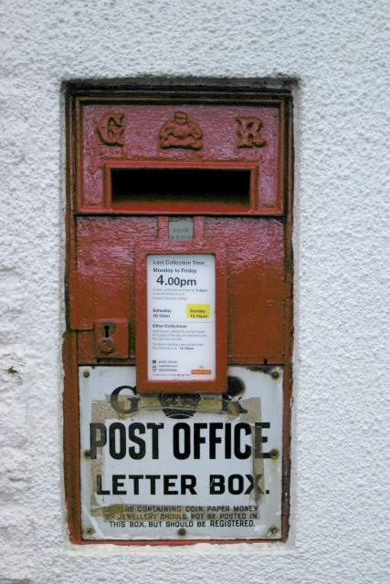 Post Box, Tideford