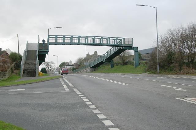 Footbridge over A38, Landrake