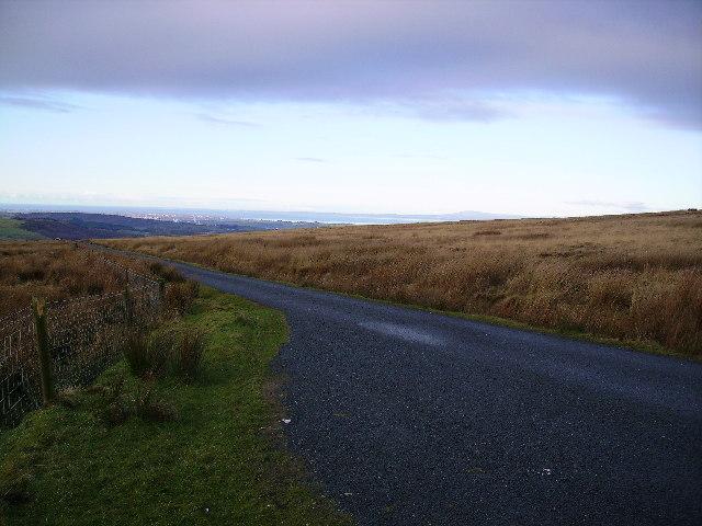 Road on Caton Moor