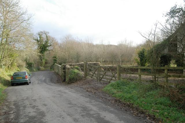 Barnyard near Elm Gate, Saltash