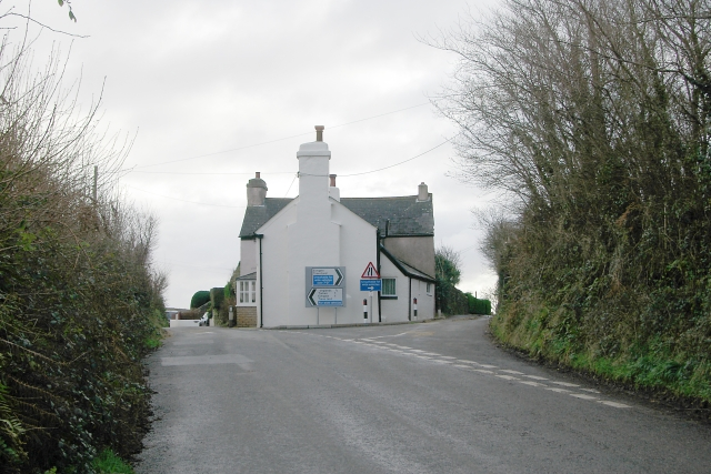Road junction, Trematon