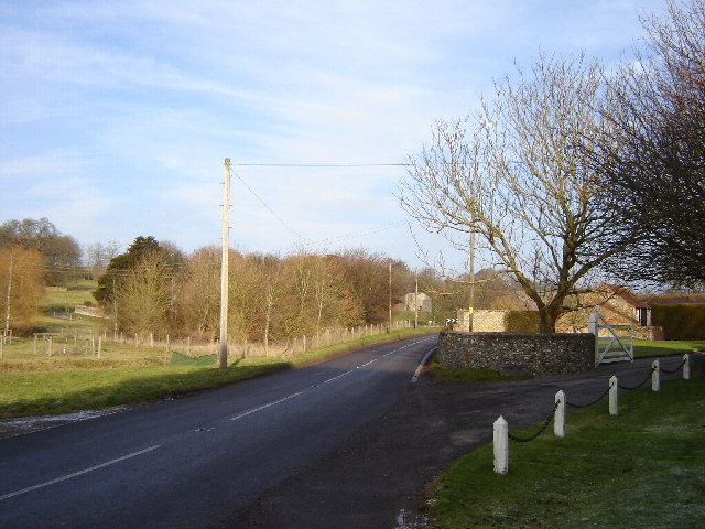 B road at Chilton Candover