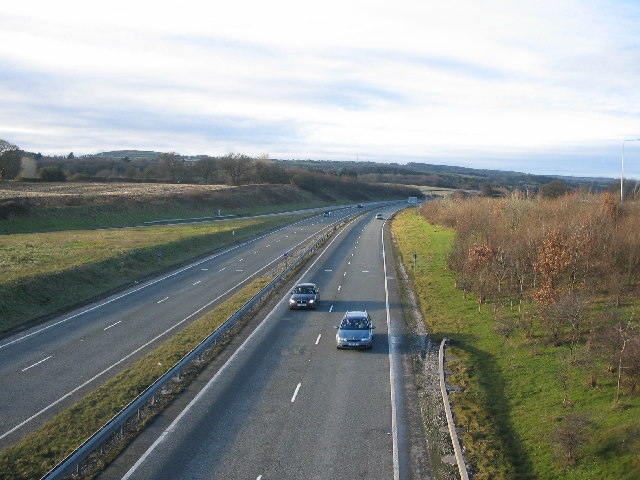A 55 at Northop