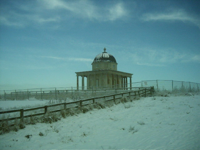 Temple 'Folly' at Hardwick Park