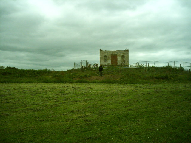 The Temple at Hardwick before restoration