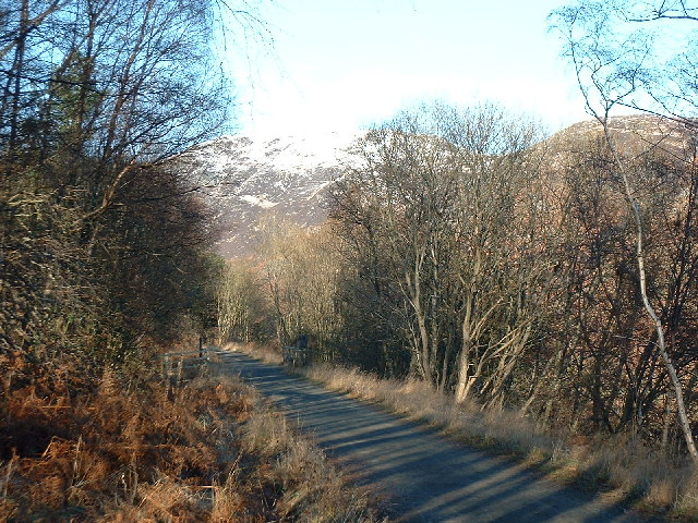 Glen Ogle cycle route and walkway
