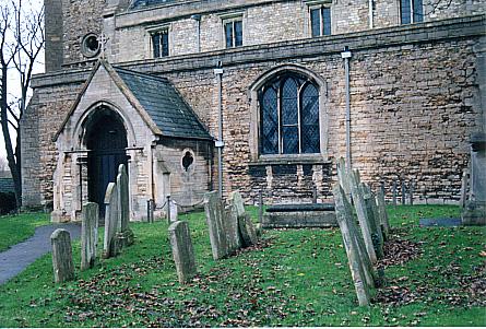 Stanground churchyard