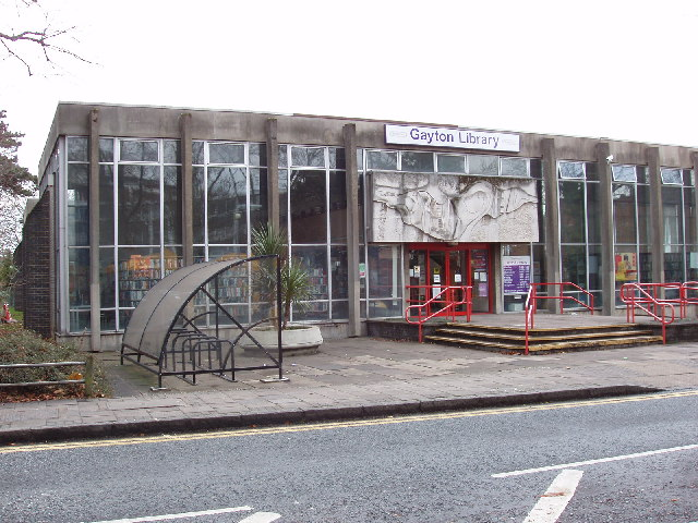 Gayton Library, Harrow - in 2006 before it moved