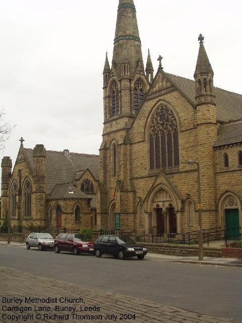 Burley Methodist Church, Cardigan Lane, Burley, Leeds