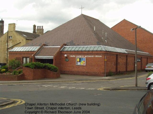 Chapel Allerton Methodist Church, Town Street, Chapel Allerton, Leeds