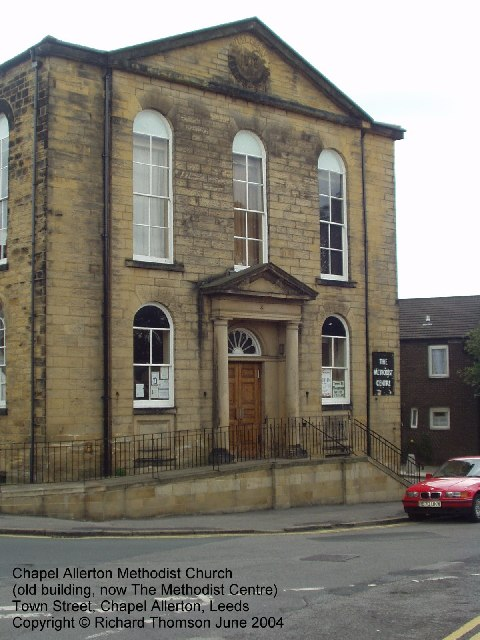 Chapel Allerton Methodist Church, Town Street, Chapel Allerton, Leeds