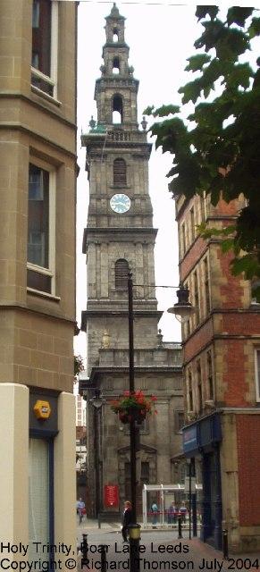 Holy Trinity, Boar Lane, Leeds City Centre